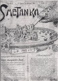 1. Časopis vydávaný klubem velocipedistů v roce 1901