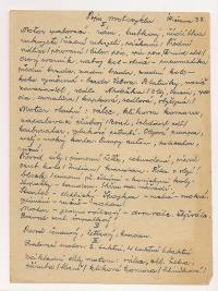 7. Stvrzenka pro Odborové sdružení hudebníků-odbočka Motyčín