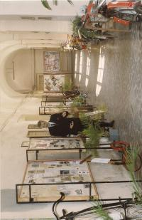 9. b Výstava motorek ve Vlastivědném muzeu Slaný