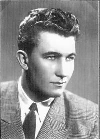 František Kolečkář za mlada