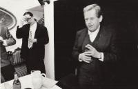 Dočekal a Gavel v Rokoku, Spolek Kašpar, hráli Havlovu aktovku Omyl, 1992