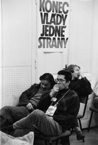 stávka DAMU 1989