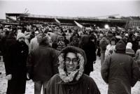 Letná, demonstrace, 25. listopad 1989