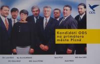 Zakládající členové ODS v Plzni, komunální volby 1994