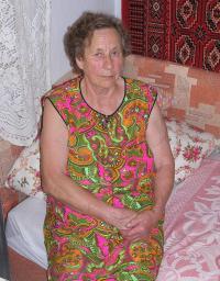 Věra Sosnarová vOdrovicích 27. července 2006 II