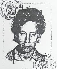 Věra Sosnarová – fotokopie portrétu, který vznikl při vydávání cestovního dokladu sovětskými orgány vroce 1964