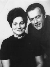 manželé Havránkovi Blahoslav a Marie, roz. Hrubá