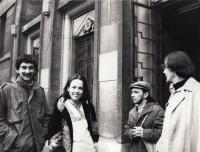 J. Mlčoch, H. Kontová, K. Miler, P. Štembera, druhá pol. 70. let