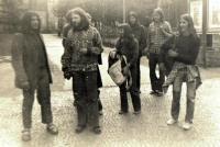 Members of underground in Ústí nad Labem