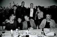 skupinové foto spolu s L. Reedem