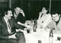 Honajzer, Stanislav Bernard, Ivo Mludek a Jaromír Piskoř / 1990