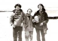 Aleš Bartusek, Ctibor Navrátil a Ivo Mludek / Polsko / 1987