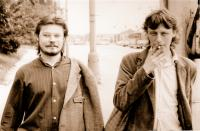 Jaromír Piskoř a Ivo Mludek / Praha / 1988