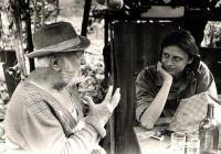 Ivo Mludek natáčí rozhovor s bývalým anglickým letcem / 1987