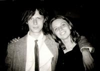 Ivo Mludek s manželkou Andreou / 1991