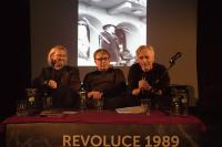 Ivo Mludek na besedě k 25.výročí listopadu 1989 / Opava / 2014