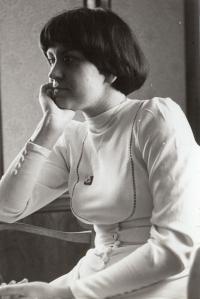 V Chotíněvsi na své svatbě (1977)