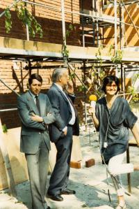 Jako reportérka brémského rozhlasu (1985)
