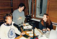 V redakci brémského rozhlasu (1990)