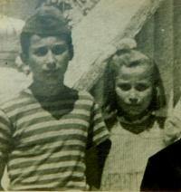 Fotis Bulguris se sestrou Areti