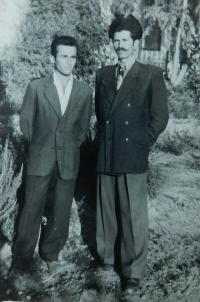 Fotis Bulguris s tchánem Vangelisem Tcapasem