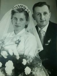Wedding photo from Paul and Maria (1956)