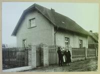 Rodný dům Františka Šedivého na pomezí Řevnic a Zadní Třebáně