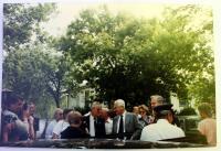 S Tomášem Baťou v Kanadě - devadesátá léta