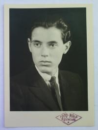 František Šedivý ve čtyřicátých letech