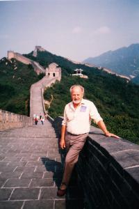 u Čínské zdi 1998