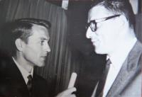 With Karel Štědrý