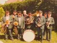 František Mráz v kapele