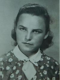 Elefteria Popovská (Vlachopulu) v roce 1955