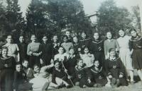 Řecké děti v dětském domově v Polsku
