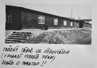 Sběrný tábor pro ostravské Němce ve Vítkovicích