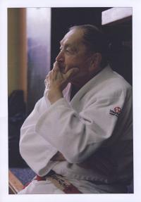 Vladimír Lorenz v kimonu