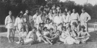 Kitayama se studenty - Petrohrad 1951