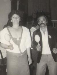 Ilona Ferková s manželem