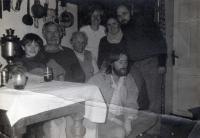 Z. Jelínek s rodinnou Ladislava Lisa