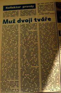 propagandistický článek o Z. Jelínkovi