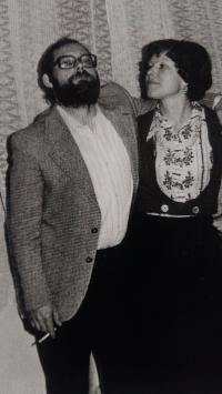 S manželkou na oslavě, Aš 1978