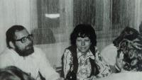 S manželkou na oslavě, 1978