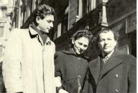 Edita Grosman s Ladislavom Grosman
