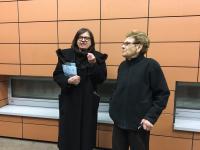 Edita Grosman (vpravo) so Zuzanou Kronerovou
