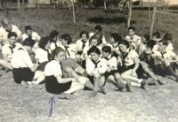 Summer camp Tchelet Lavan, 1939