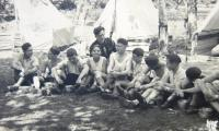 Boys from Tchelet Lavan, 1938