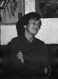 Libuše Šedinová - dobová fotografie