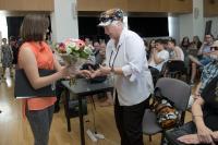 Žákyně ze ZŠ Tusarova děkuji L.Šedinové, Příběhy našich sousedů, květen 2017