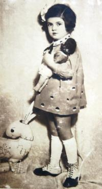 Judith Marosi. 1933.