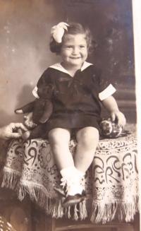 Juditina sestra Noemi. 1936.